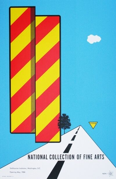 Allan D'Arcangelo, 'National Collection of Fine Arts', 1968