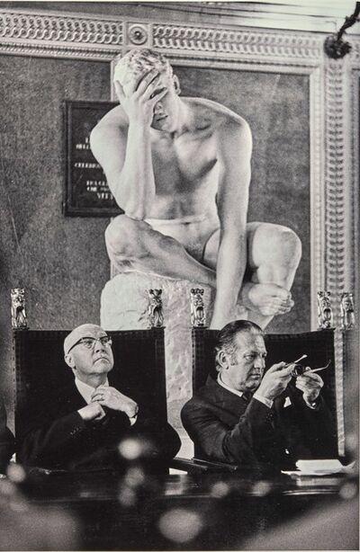 Zoltan Nagy, 'Siena 1974, Conferenza stampa con il ministro della giustizia Mario Zagari'