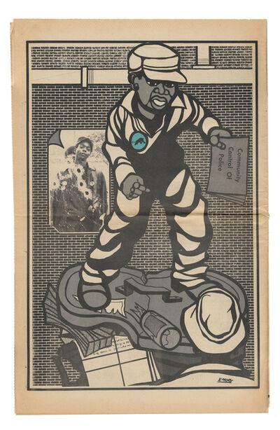 "Emory Douglas, '""Community control of police""', 1971"