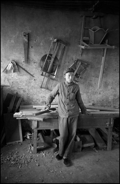 Inge Morath, 'Nanniwan. May 7th Cadre School. Carpenter shop. ', 1978