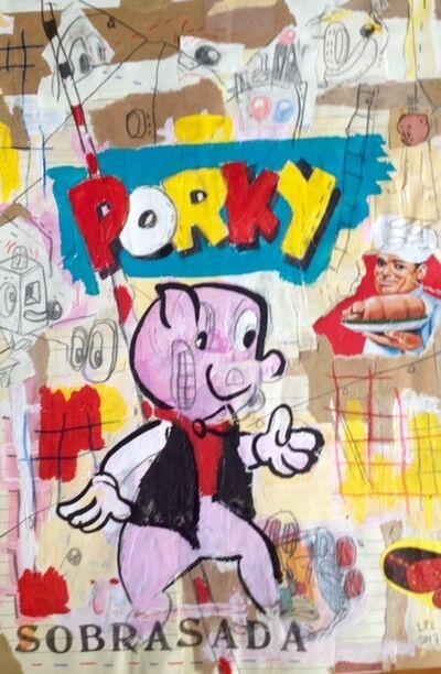Luis Pérez Calvo, 'Porky', 2017