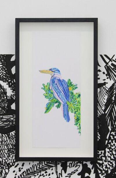 Chourouk Hriech, 'Les oiseaux dans ma tête #4', 2020