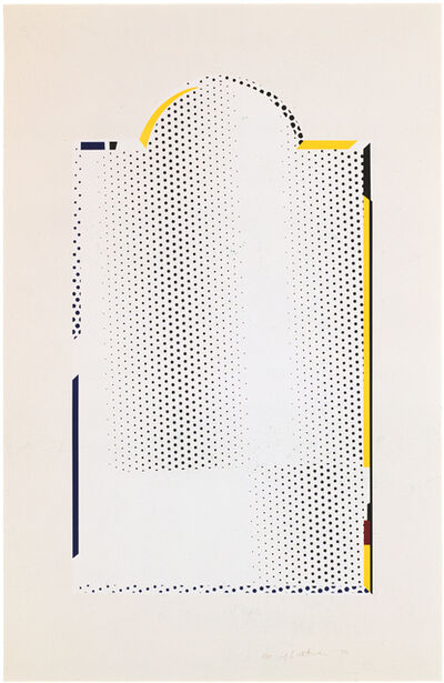 Roy Lichtenstein, 'Mirror #7', 1972