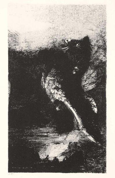 Odilon Redon, 'La Chimère aux Yeux Verts', 1888