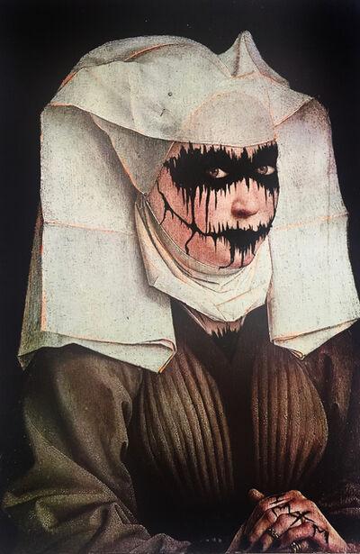 Ciler, 'Ejercicio de apropiación, Retrato de una mujer joven de Van Der Weyden', 2017