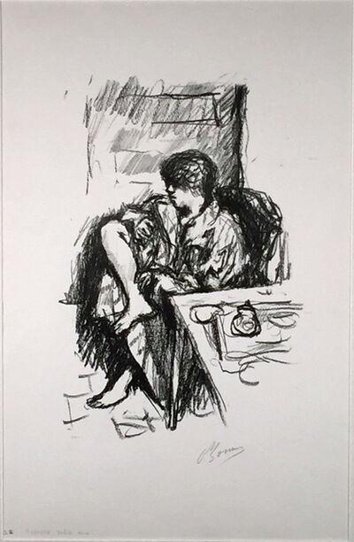 Pierre Bonnard, 'LA TOILETTE ASSIZE', 1925