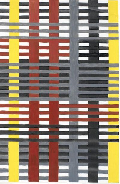 Anni Albers, 'Study for an unexecuted wallhanging', 1926