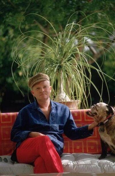 Slim Aarons, 'Truman Capote, Palm Springs', 1970