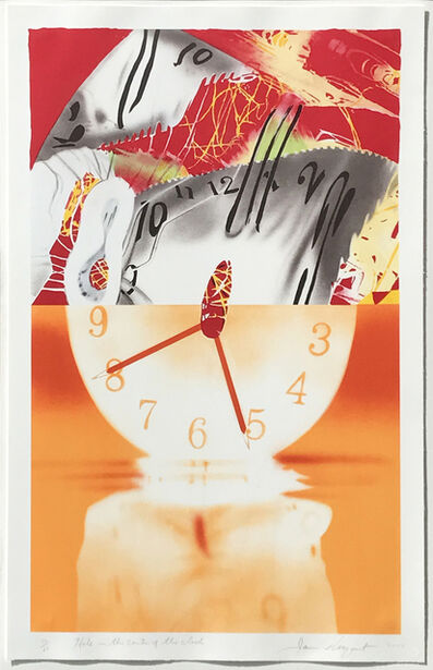James Rosenquist, 'Hole in the Center of the Clock', 2007