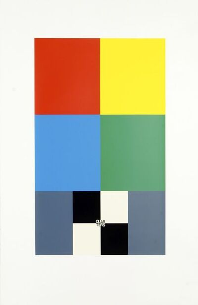 Peter Blake, 'Q is for Quarters, from the Alphabet Series', 1991