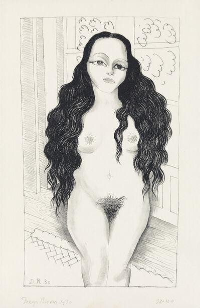 Diego Rivera, 'Desnudo de Dolores Olmedo.', 1930