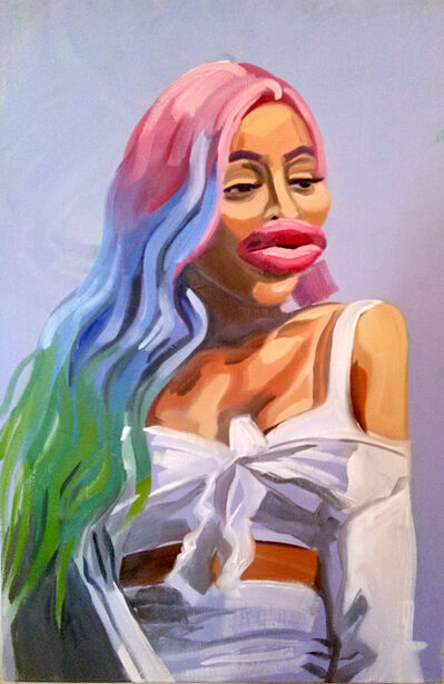 Caitlin Cherry, 'Blacchyna', 2017
