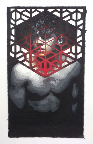 Roc Blackblock, 'The beauty cage of aesthetics II', 2018