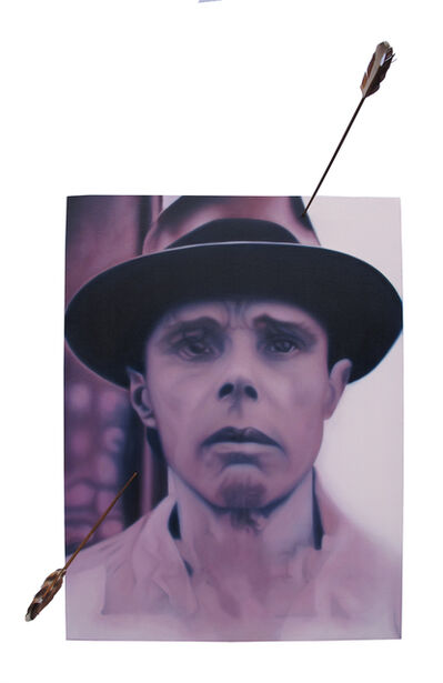 Wire Tuazon, 'A Pack of Albeit Fabricated Story (show your wounds): After Joseph Beuys', 2014