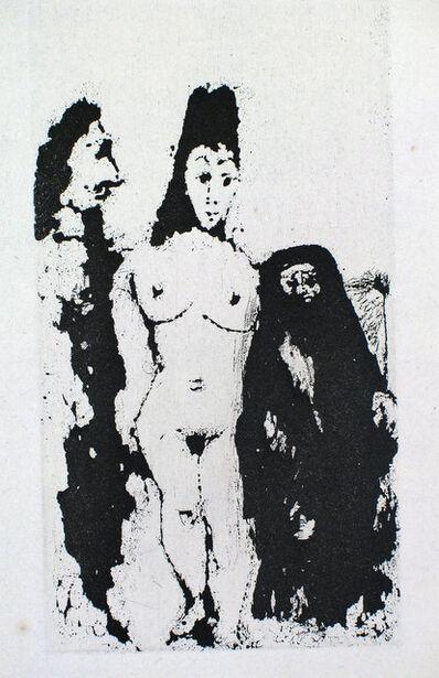 Pablo Picasso, 'Célestine, Maja et Complice Masculin', 1968