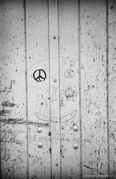 Jim Marshall, 'Graffiti Face', 1963