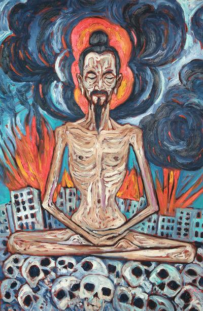 Vasan Sitthiket, 'Fasting Meditation', 2015