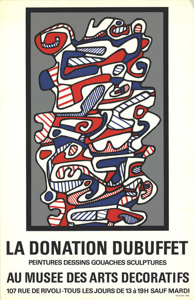 Jean Dubuffet, 'The Donation'