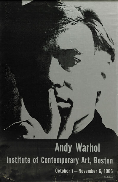 Andy Warhol, 'Self Portrait (1966 exhibition at Boston's Institute of Contemporary Art )', 1966