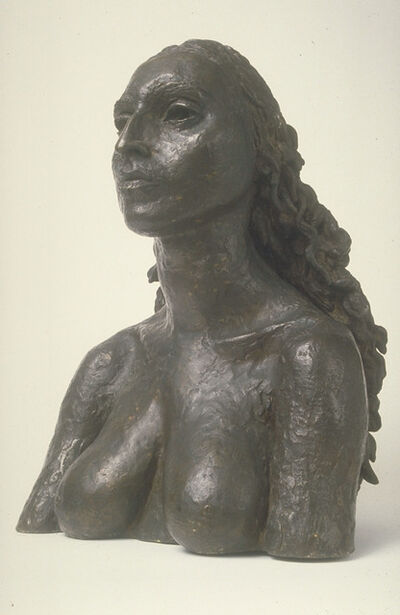 Jacob Epstein, 'Shulamite Woman (Arab Girl)', 1935