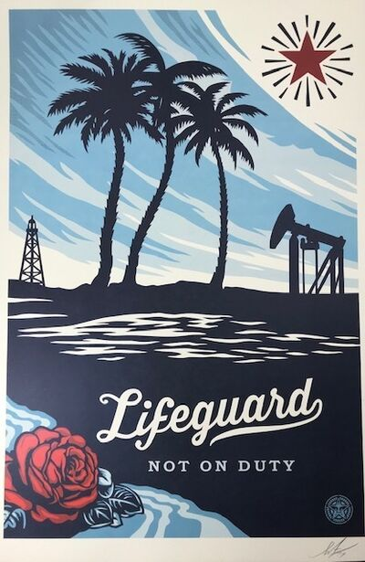 Shepard Fairey, 'Life Guard On Duty', 2016