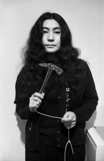 Clay Perry, 'Yoko Ono (with glass hammer)', 1967