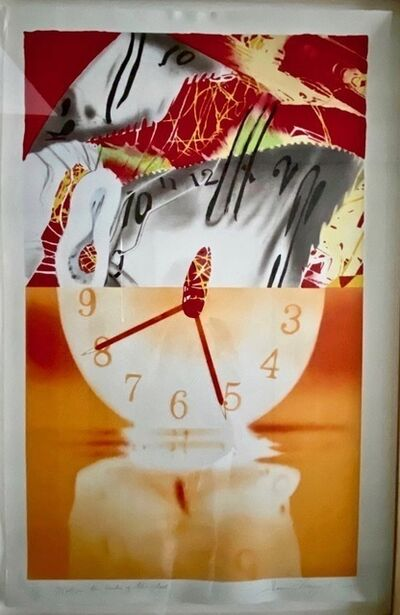 James Rosenquist, 'A Hole in the Center of the Clock', 2007