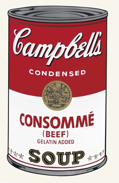 Andy Warhol, 'Campbell's Soup I: Consomme Beef', 1968