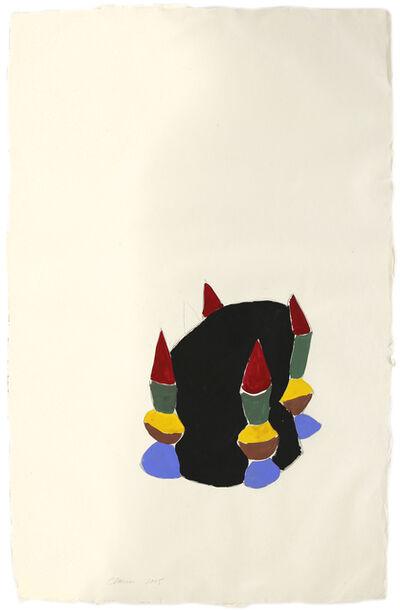 Saint Clair Cemin, 'La Peur', 2005