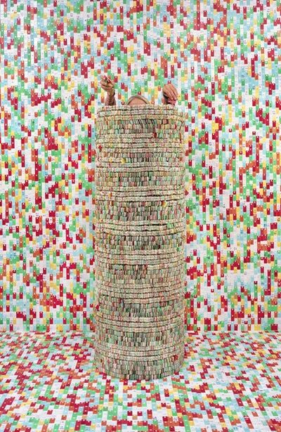 Rachel Perry, 'Lost in my Life (Bread Tags)', 2010