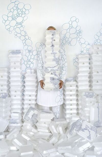 Rachel Perry, 'Lost in My Life (Take-out Boxes)', 2010