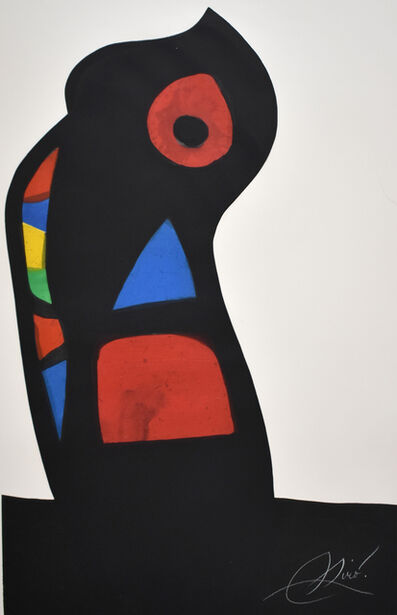 Joan Miró, 'The Ustashi | L'Oustachi', 1978