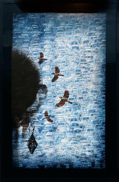 Sheba Chhachhi, 'FIVE BULBULS', 2015