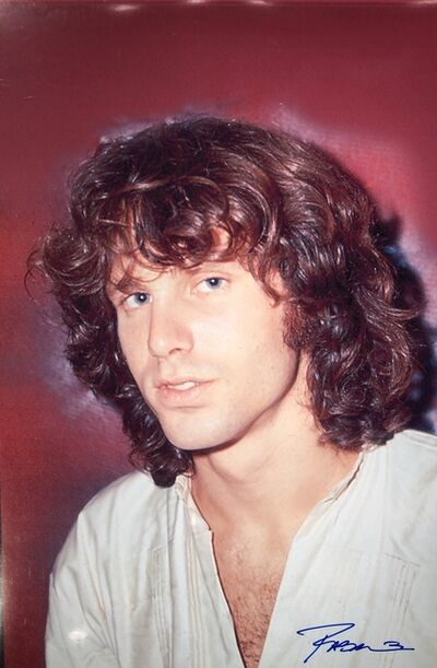 Roberto Rabanne, 'Jim Morrison ', 1968 Los Angeles backstage