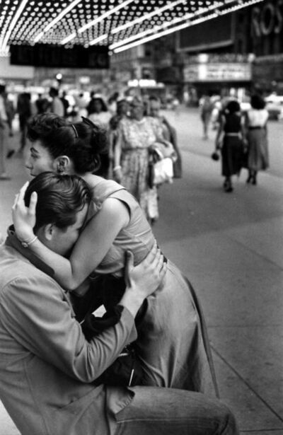 Ruth Orkin, 'Street Embrace, New York City', 1948-1950