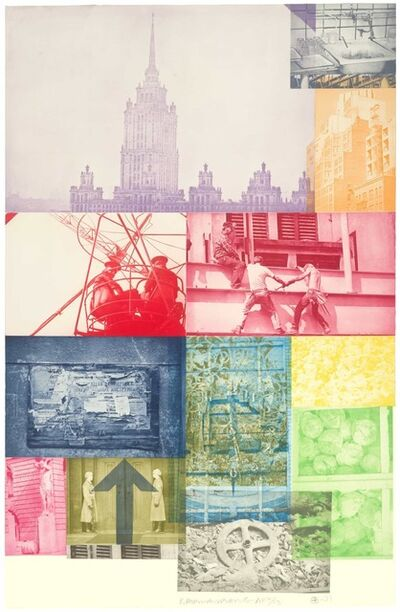 Robert Rauschenberg, 'Soviet/American Array VII', 1989-91