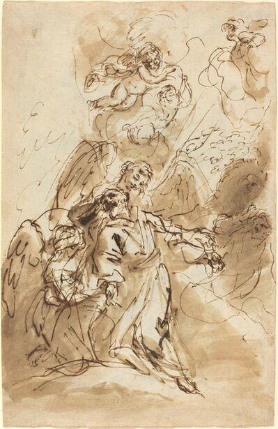 Sebastiano Ricci, 'The Ecstasy of Saint Francis [recto]', 1720/1730