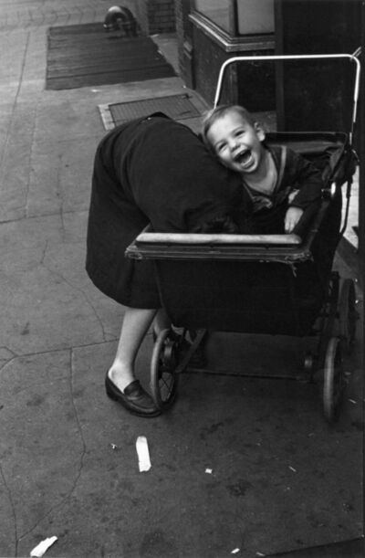 Helen Levitt, 'N.Y.C. (baby carriage)', ca. 1940