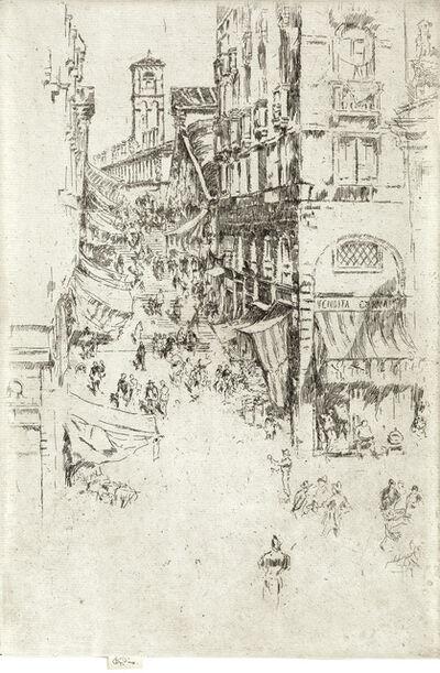 James A. M. Whistler, 'The Rialto', 1879-80