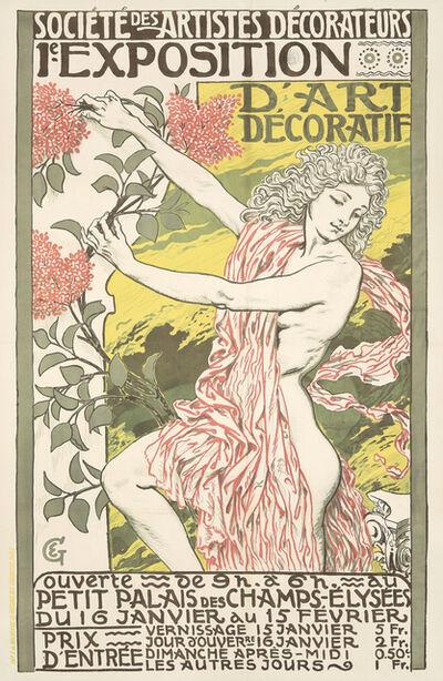 Eugène Samuel Grasset, '1e Exposition d'Art Décoratif.', 1894