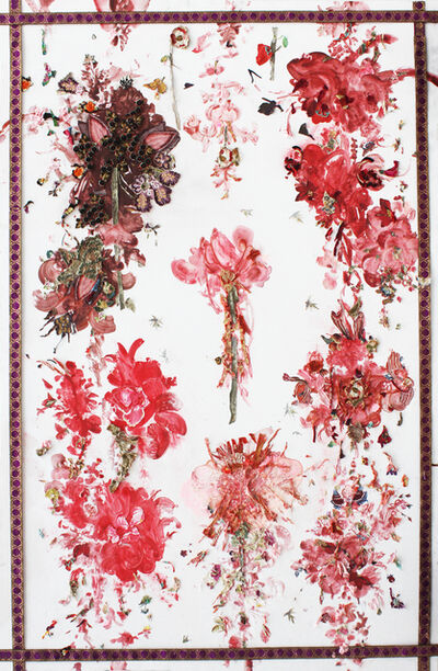 Christian de Laubadère 麓幂, 'The Flush of Flowers # 1', 2014