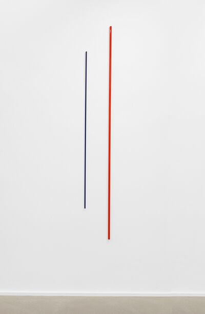 Lutz Fritsch, 'Gerade versetzt - Raumsichten', 2017