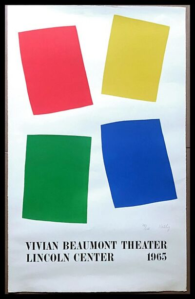 Ellsworth Kelly, 'Vivian Beaumont Theater, Lincoln Center, NYC  (Axsom IIE)', 1965