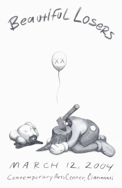 KAWS, 'Beautiful Losers Show Poster', 2004