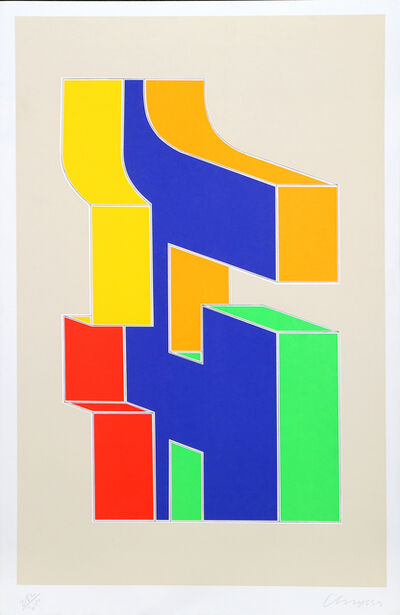 Chryssa, 'Times Square Fragment #10', 1979
