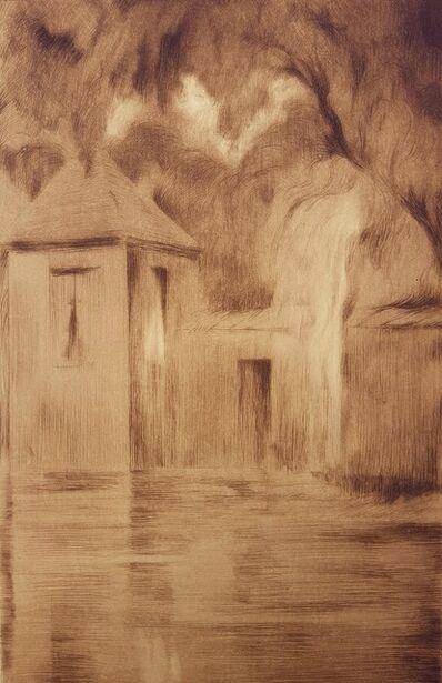Emile Lequeux, 'Petite Chapelle à Bruges (Little Chapel in Bruges)', 1909