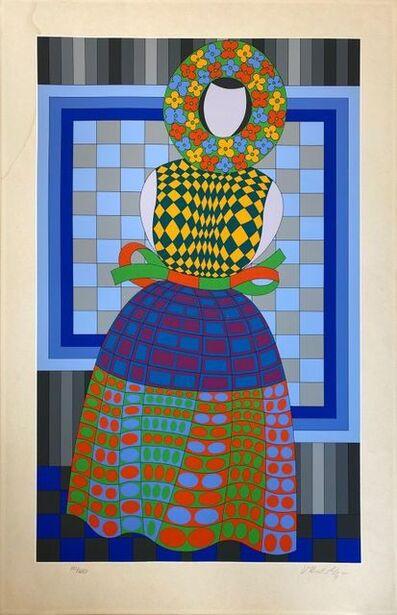 Victor Vasarely, 'Fille Fleur ', 1980