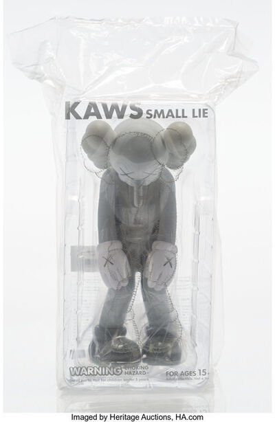 KAWS, 'Small Lie (Grey)', 2017