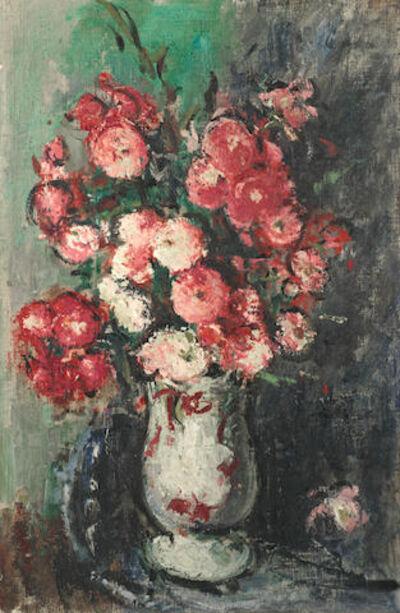 Anton Faistauer, 'Bouquet in white vase', 1920