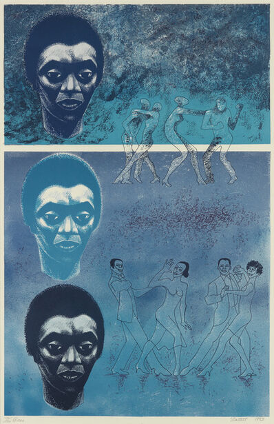 Elizabeth Catlett, 'Blues', 1983